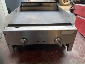 Restaurant commercial flat griddle burner grill barbecue tacos parrilla plancha quemador for Sale in Covina, CA