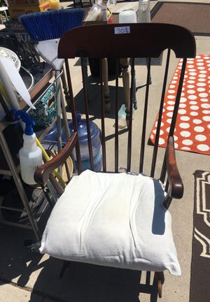 Vintage real wooden rocking chair for Sale in San Diego, CA