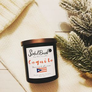 """Coquito"" scented soy candle By SinfulBurns for Sale in Reston, VA"