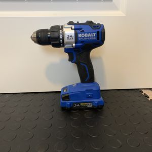 Kobalt 24-Volt Max Brushless Cordless Drill (1-Battery Included) for Sale in Montgomery, AL