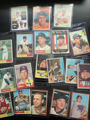 Old baseball cards for Sale in Fuquay-Varina, NC