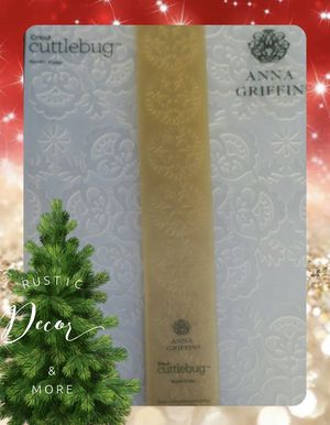 Anna Griffin Holiday Seasonal Embossing Folders & Border Folders for Sale in Tampa, FL