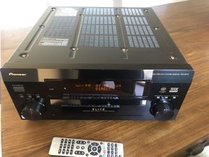 Pioneer Elite VSX-54TX AV Stereo Receiver with Remote Control for Sale in Garland, TX