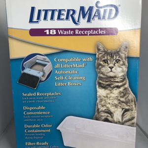 New Litter Maide 18 Waste Receptacles for Sale in Fort Lee, NJ