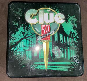 Clue Board Game 50th Anniversary Edition for Sale in Whittier, CA