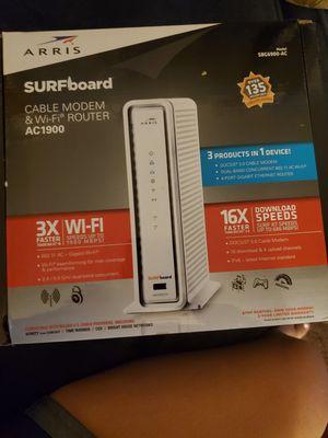 Arris surfboard modem for Sale in Bell Gardens, CA