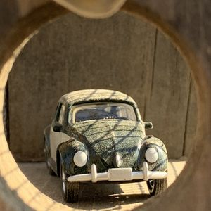 Old bug house with Old Bug Inside for Sale in Fresno, CA