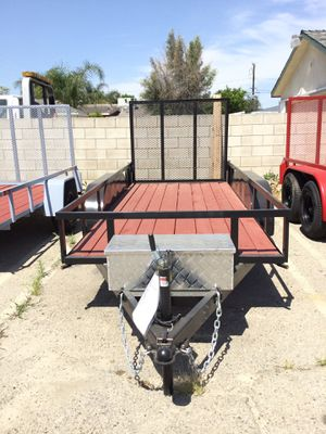 5x12x1 T/A Utility Trailer for Sale in Highland, CA