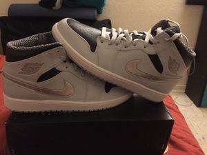 Size 12 Nike Air Jordan 1s shoes for Sale in Fresno, CA