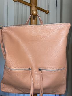 Pink backpack/purse with dust bag for Sale in Scottsdale,  AZ