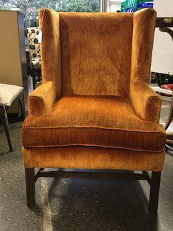 Down Orange Retro Chair for Sale in Bellevue,  WA