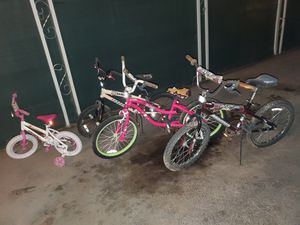 KIDS BIKES MAKE A >> REASONABLE OFFER<< for Sale in Tempe, AZ