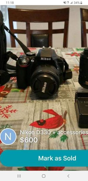 NIKON D3300 excellent condition for Sale in Fairfax, VA