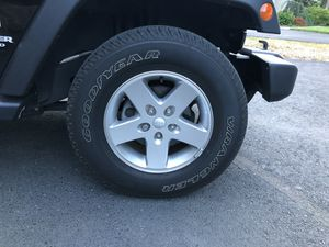 Tires and Wheels for Jeep Wrangler for Sale in Providence, RI
