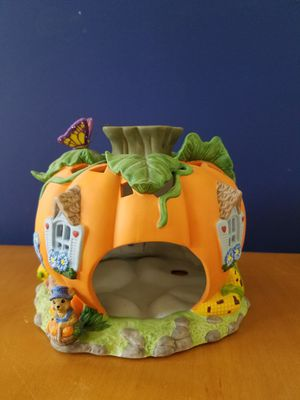 Halloween Fall Harvest Pumpkin Tea Light house for Sale in Mesa, AZ
