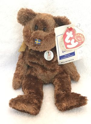2002 FIFA ty beanie baby Sweden 🇸🇪 soccer ⚽️ bear 🐻 for Sale in Roswell, GA