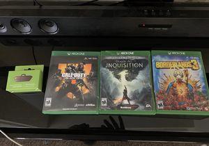 XBOX One games for Sale in Dallas, TX
