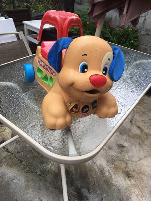Fisher price learning puppy for Sale in Philadelphia, PA