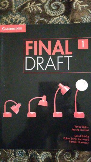 Final Draft 1 book for Sale in El Cajon, CA