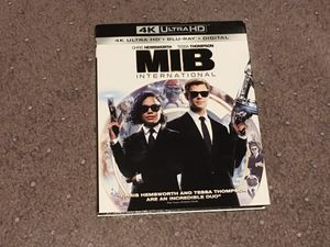 Men in Black International 4k Bluray complete with digital code for Sale in Pasadena, CA