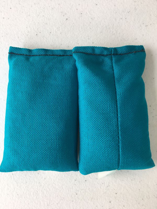Lead pouches for diving 2lb