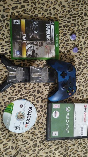 Xbox one controller and games for Sale in San Diego, CA