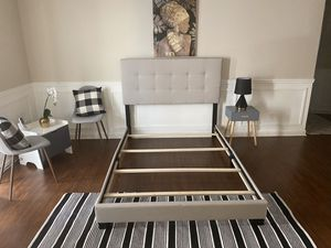 New in box full/queen/king size bed (no mattress) for Sale in Cedar Park, TX