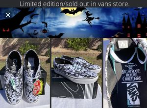 Disney the nightmare before Christmas vans shoes for Sale in Mesa, AZ