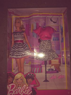 Barbie doll with cloths for Sale in Stockton, CA