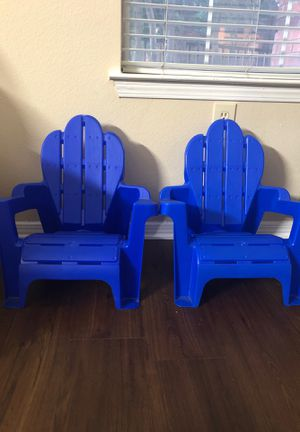 kids chairs -2 for Sale in Irving, TX