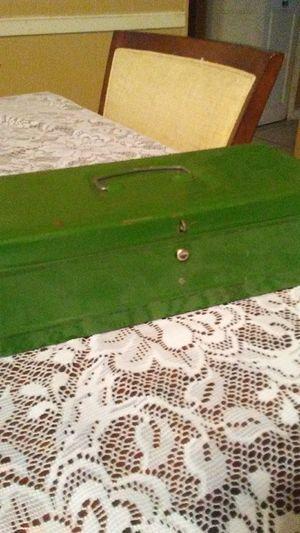 Vintage 1960 Green Tool Box $22 for Sale in San Antonio, TX