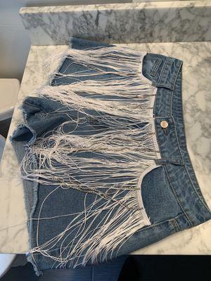 Cute fringe shorts for Sale in Philadelphia, PA