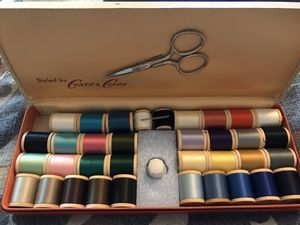 Coats & Clark Vintage thread box for Sale in Sacramento, CA