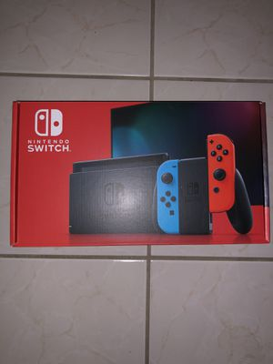 Nintendo Switch Blue & Red Joy Cons New + Unopened for Sale in Clovis, CA