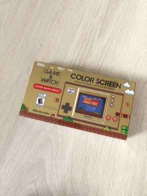 Nintendo Game & Watch: Super Mario Bros. Brand new for Sale in Miami, FL
