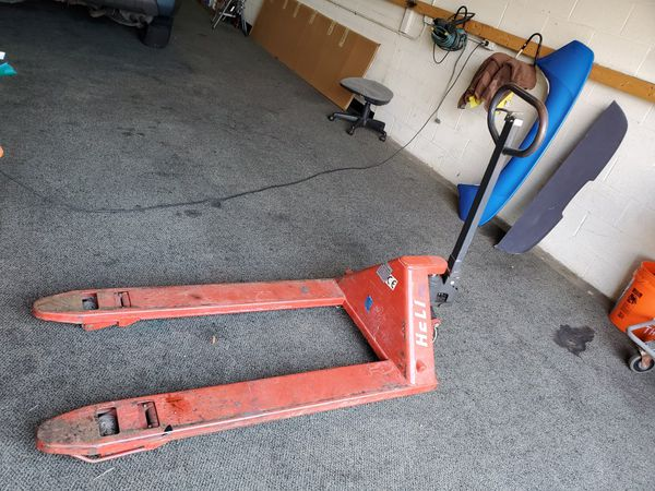 Steel wheel pallet truck heli 2.50