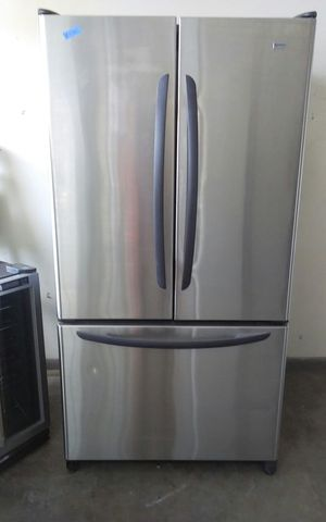 Stainless Steel Kenmore Elite Side by Side Refrigerator for Sale in Tampa, FL
