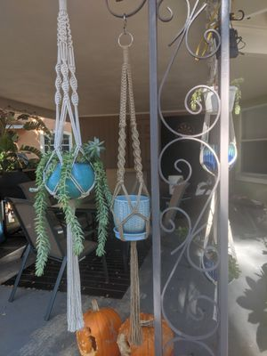 Custom macrame hanging planter for Sale in Orlando, FL