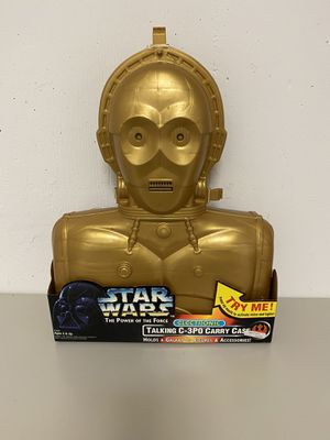 Star Wars Power of the force C3Po figure case for Sale in Mount Prospect, IL