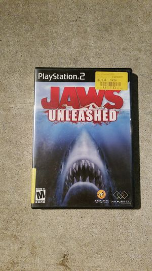 Ps2 game (jaws) for Sale in Pico Rivera, CA