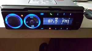 Dual 200w XML8100 car stereo. No CD. Flip down Ipod dock. for Sale in Davenport, FL