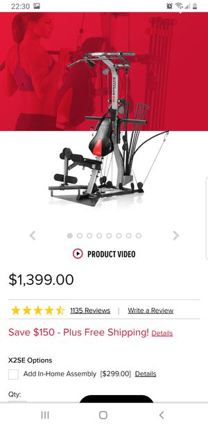 bowflex home gym for Sale in San Diego, CA