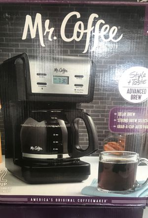 Mr coffee 12 cup programmable coffee maker for Sale in Moreno Valley, CA