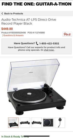 Audio Technica Turntable Record player for Sale in Gilbert, AZ