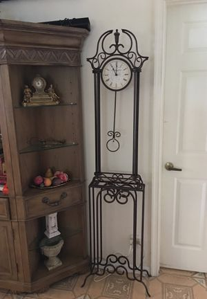 72 inch Wrought Antique Clock for Sale in FL, US