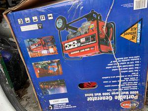 All power portable 6000 watt generator for Sale in Philadelphia, PA