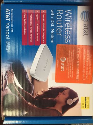 ATT DSL modem for Sale in Bolingbrook, IL