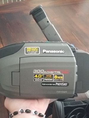 VHS Panasonic video camera for Sale in Seattle, WA