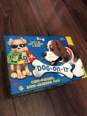 New Dog On It Card game - ages 7 and up - for Sale in Buckeye, AZ