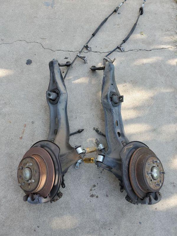 Integra rear disc brakes setup - eg dc
